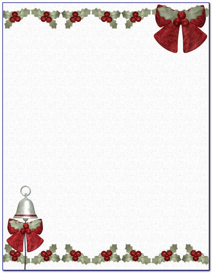 008 Marvelou Christma Stationery Template Microsoft Word Highest Quality  FreeFull