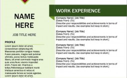 008 Marvelou Creative Resume Template M Word Free Image