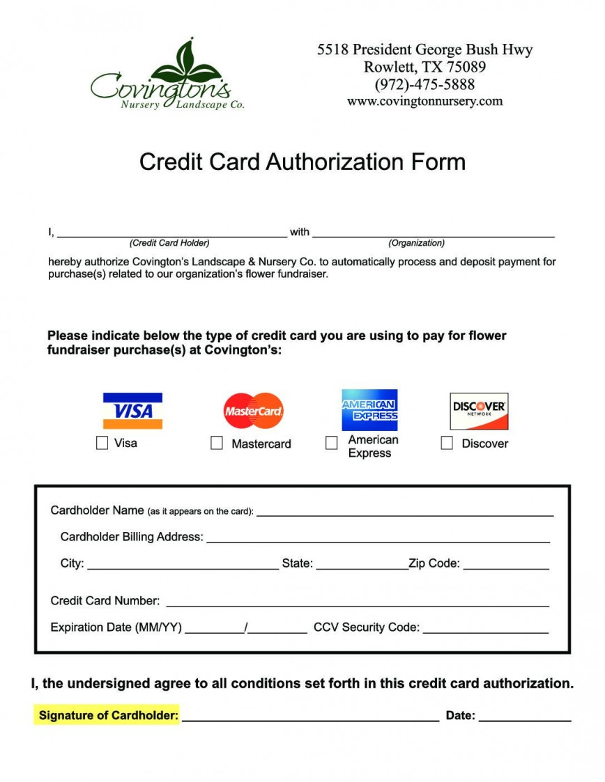 008 Marvelou Credit Card Authorization Template Photo  Form Canada Free Excel Letter