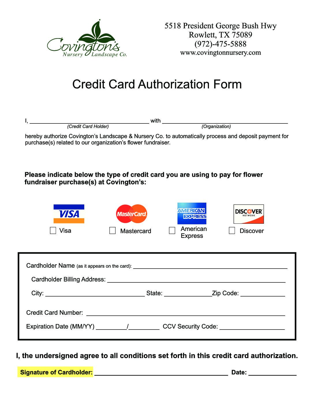 008 Marvelou Credit Card Authorization Template Photo  Form For Travel Agency Free Download Google DocFull