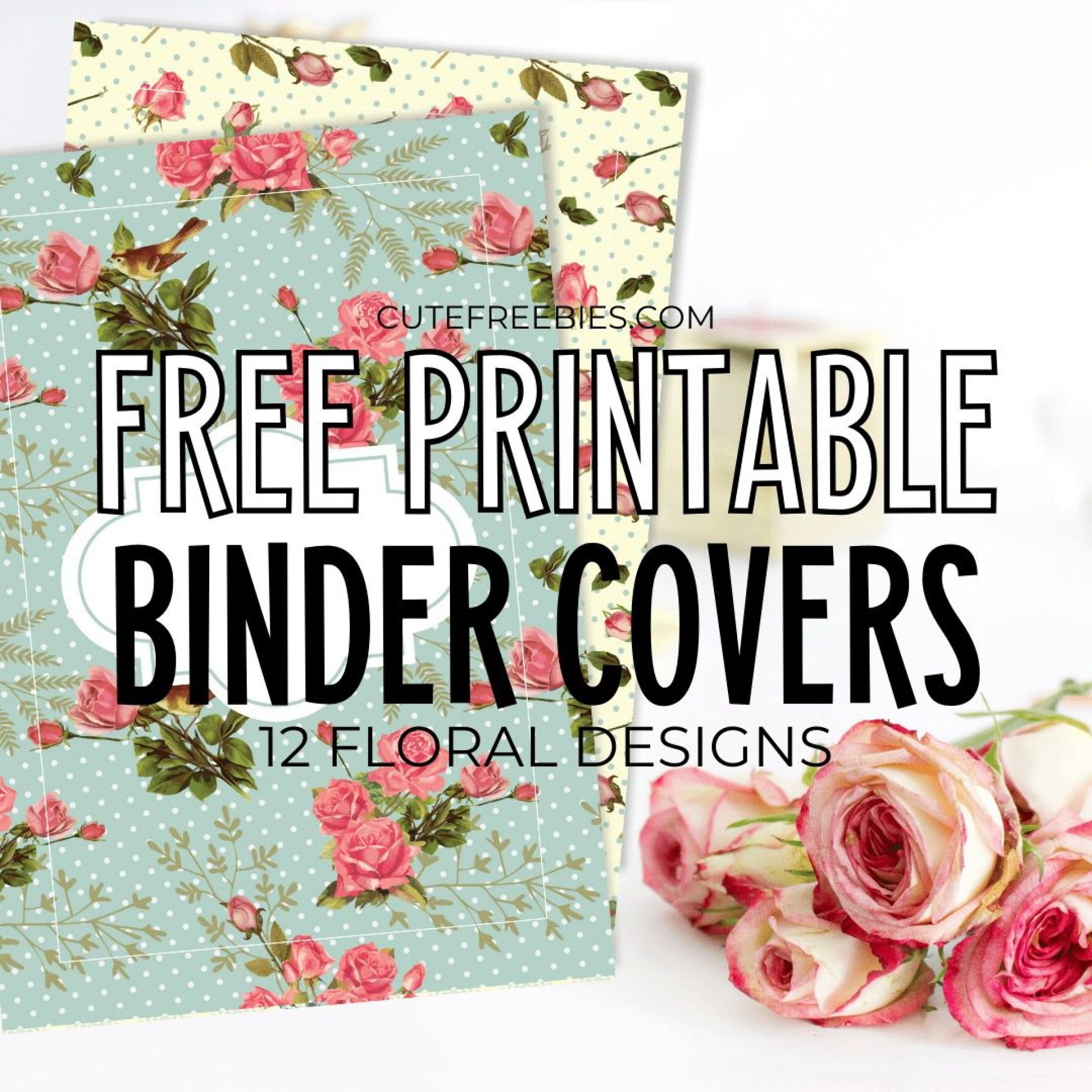 008 Marvelou Cute Binder Cover Template Free Printable Highest Clarity 1920
