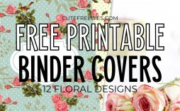 008 Marvelou Cute Binder Cover Template Free Printable Highest Clarity