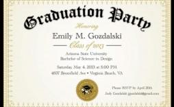 008 Marvelou Diy Graduation Announcement Template Free High Definition  Invitation