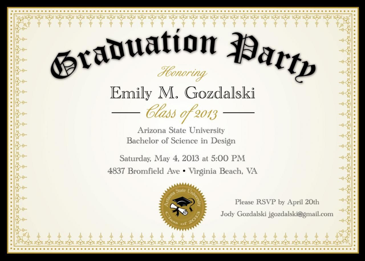 008 Marvelou Diy Graduation Announcement Template Free High Definition  InvitationFull