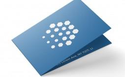 008 Marvelou Folded Busines Card Template Design  Templates Publisher Free Download Tri Fold Word