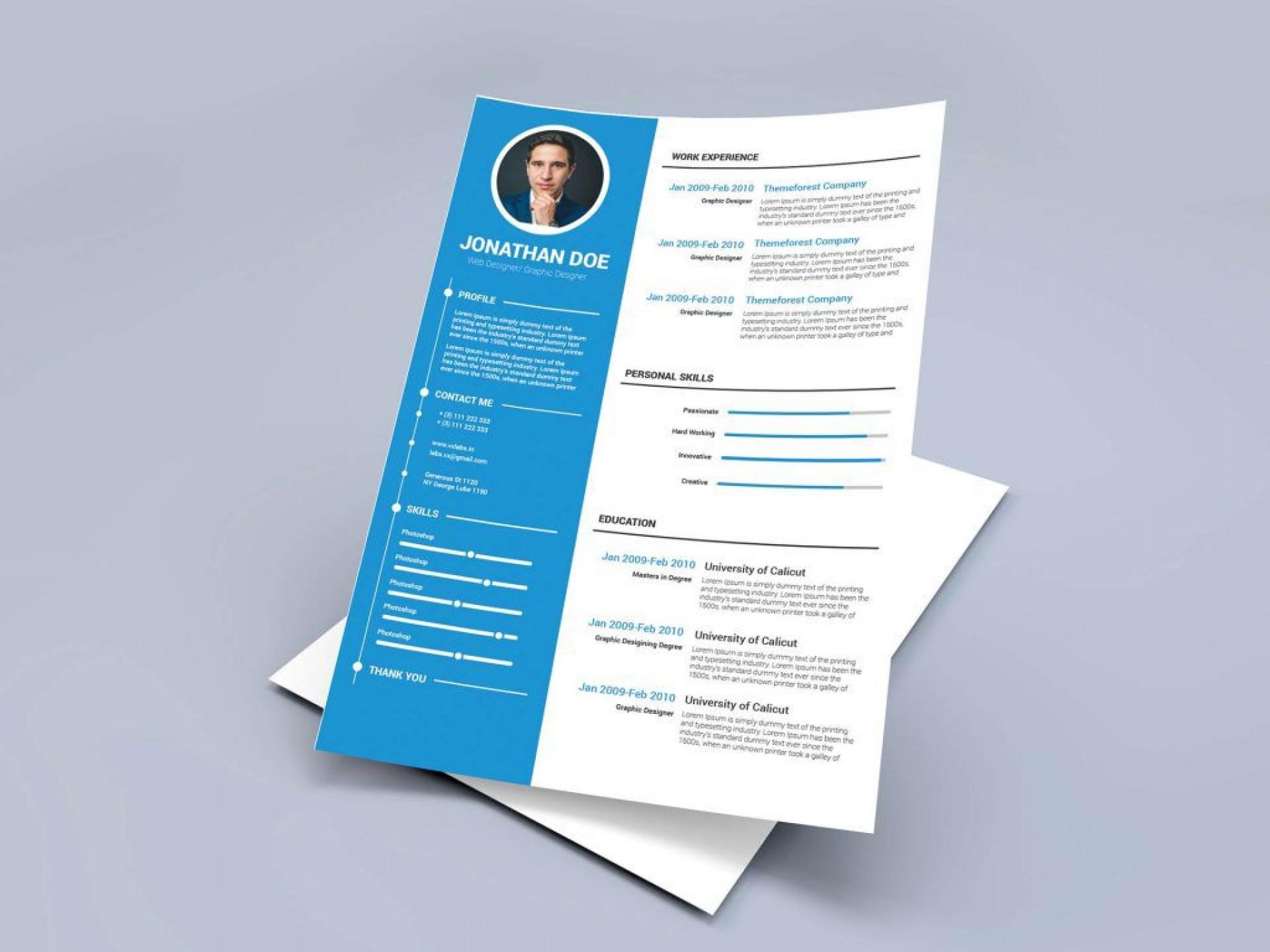 008 Marvelou Free Resume Template Microsoft Word 2010 Idea  Cv Download1920