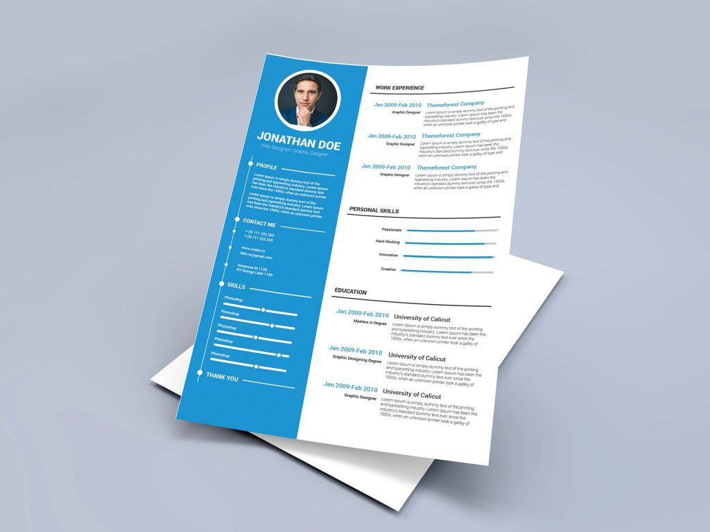 008 Marvelou Free Resume Template Microsoft Word 2010 Idea  Cv DownloadFull