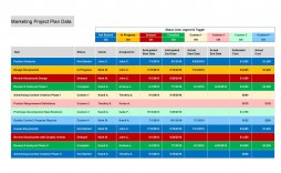 008 Marvelou Multiple Project Tracking Template Xl Concept  Xls Spreadsheet Excel