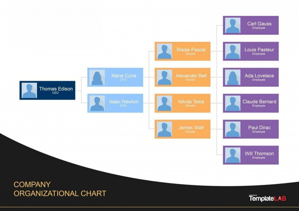 008 Marvelou Organization Chart Template Word 2013 Inspiration  Organizational Free In Microsoft960