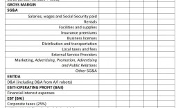 008 Marvelou Profit And Los Template Sample  Statement Form For Small Busines Pdf Free