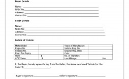 008 Marvelou Vehicle Purchase Order Template Idea  Used Car Motor