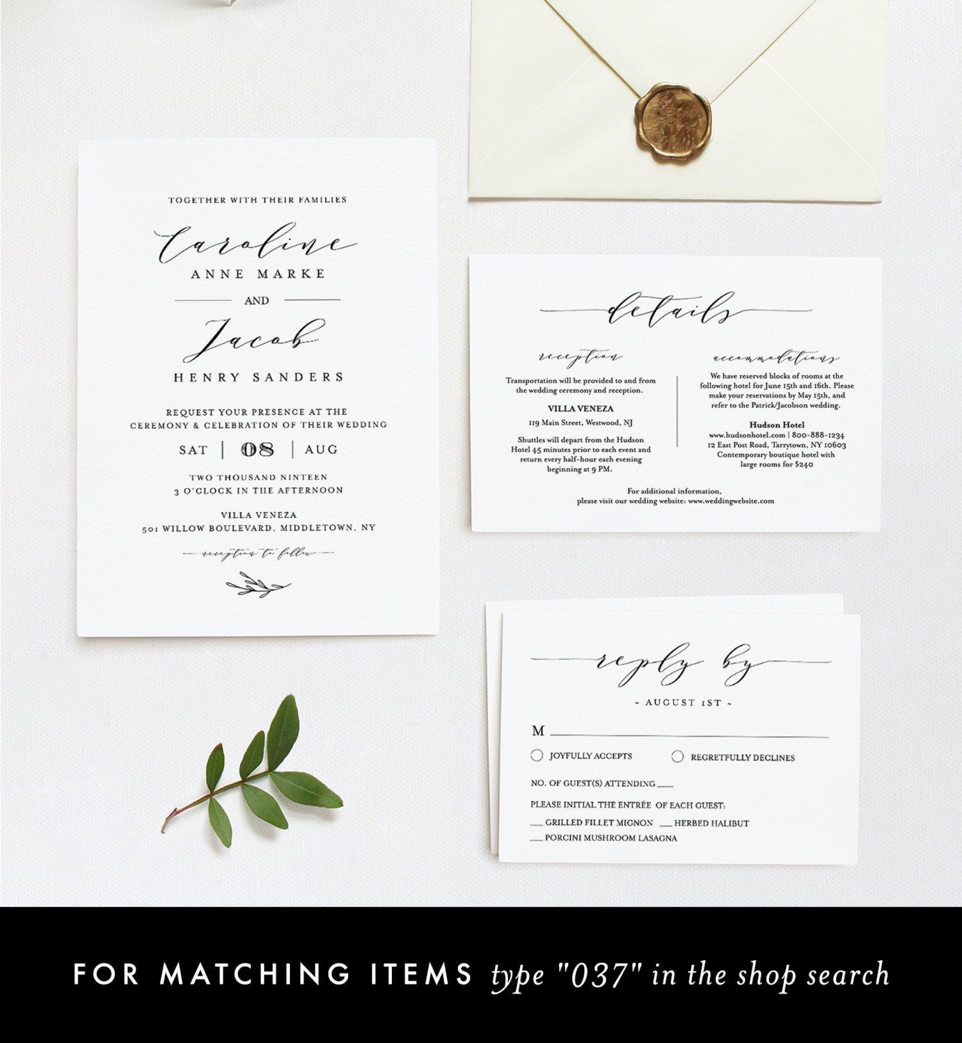 008 Marvelou Wedding Hotel Welcome Letter Template High Definition 1920