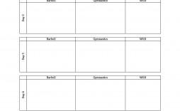 008 Marvelou Weekly Workout Schedule Template Idea  12 Week Plan Training Calendar