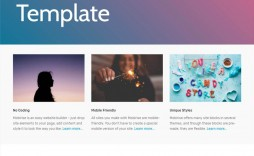 008 Outstanding Bootstrap Responsive Professional Website Template Free Download Sample