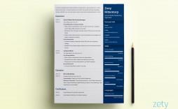 008 Outstanding Download Elegant Resume Template Microsoft Word Idea