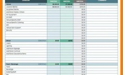008 Outstanding Event Planner Excel Template Free Download Sample