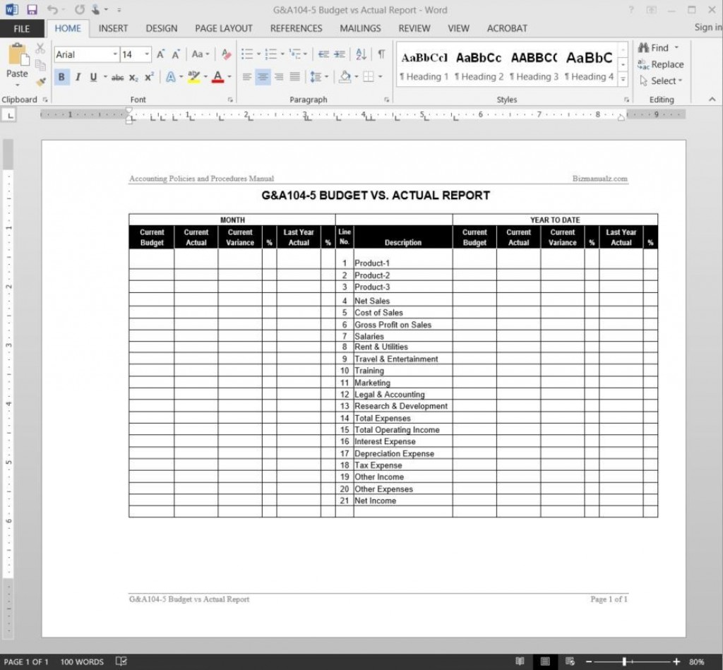 008 Outstanding Free Expense Report Template Word High Def  MicrosoftLarge