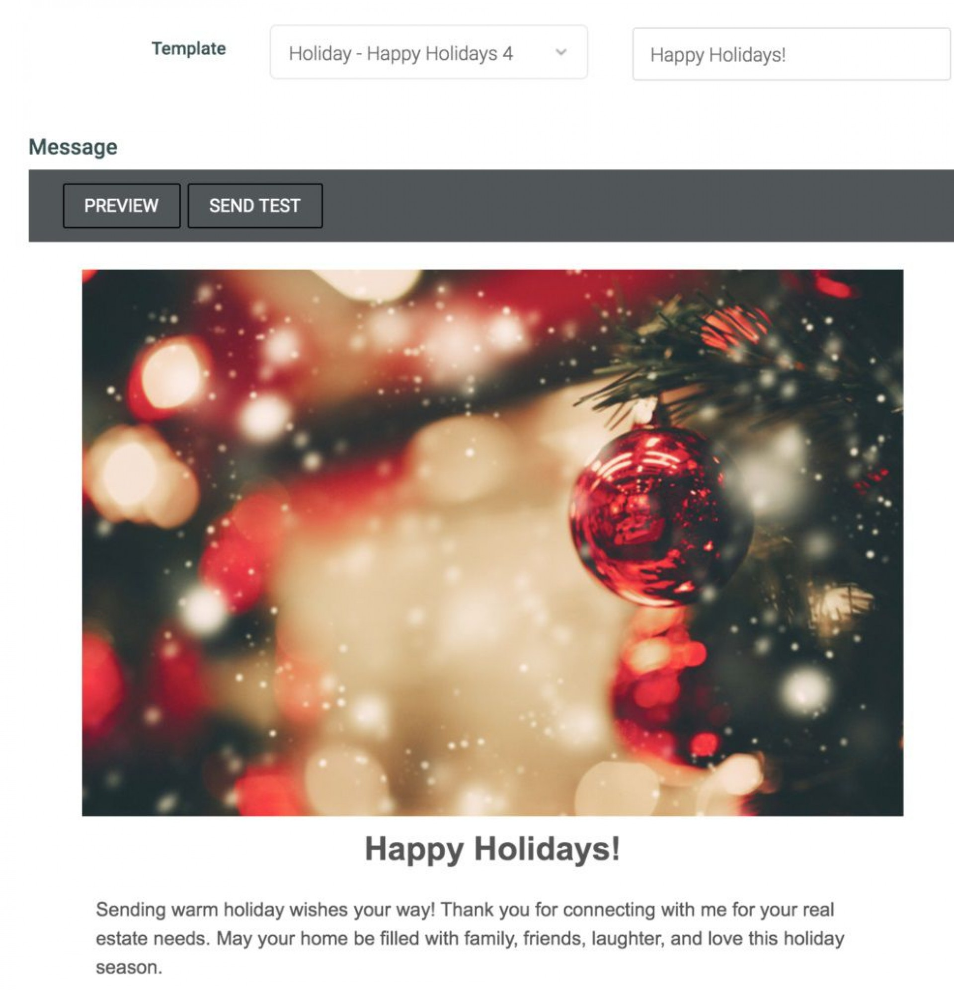 008 Outstanding Holiday E Mail Template Idea  Templates Mailchimp Email1920