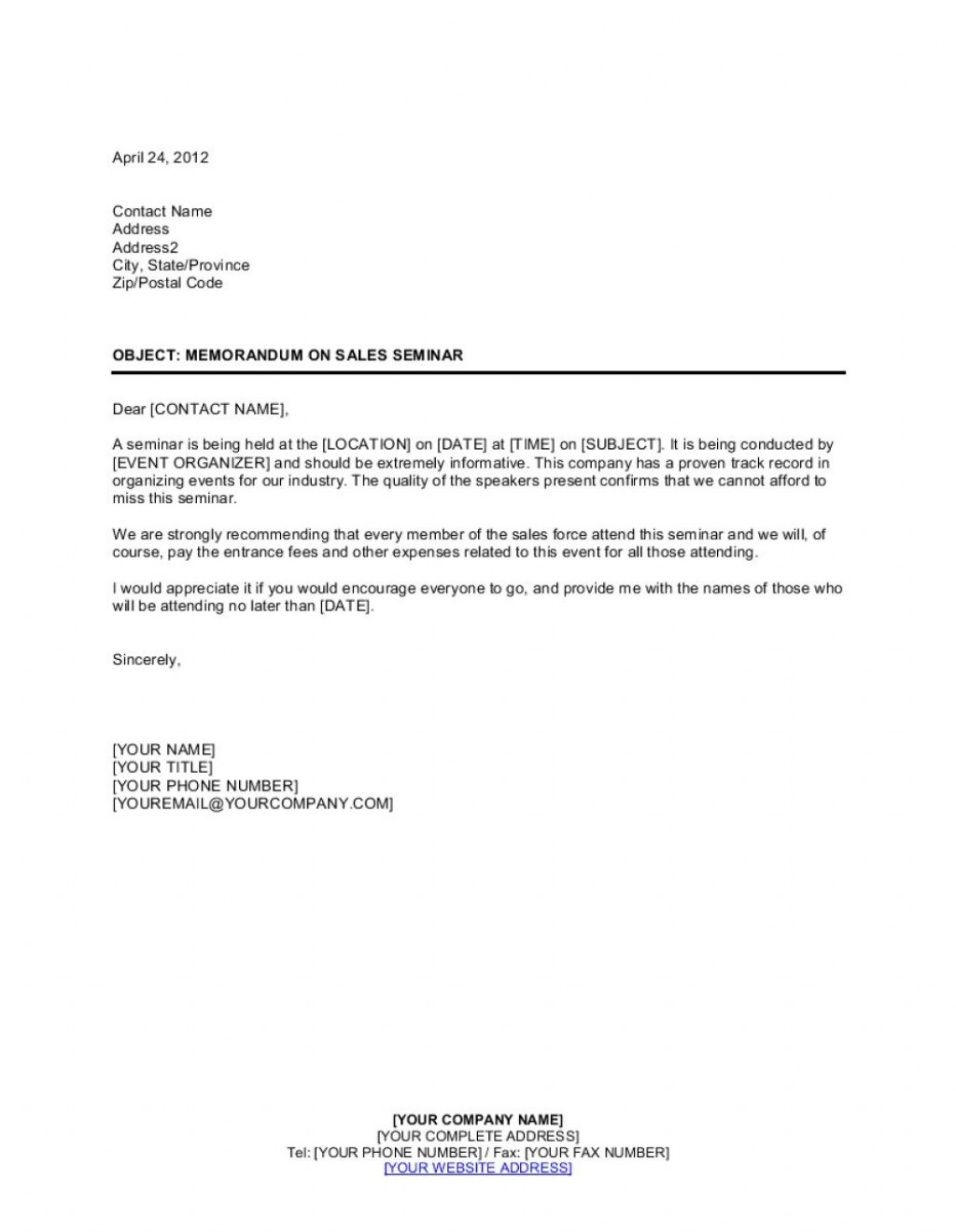 008 Outstanding Memorandum For Record Template Concept  Army Pdf Fillable Example WlcLarge