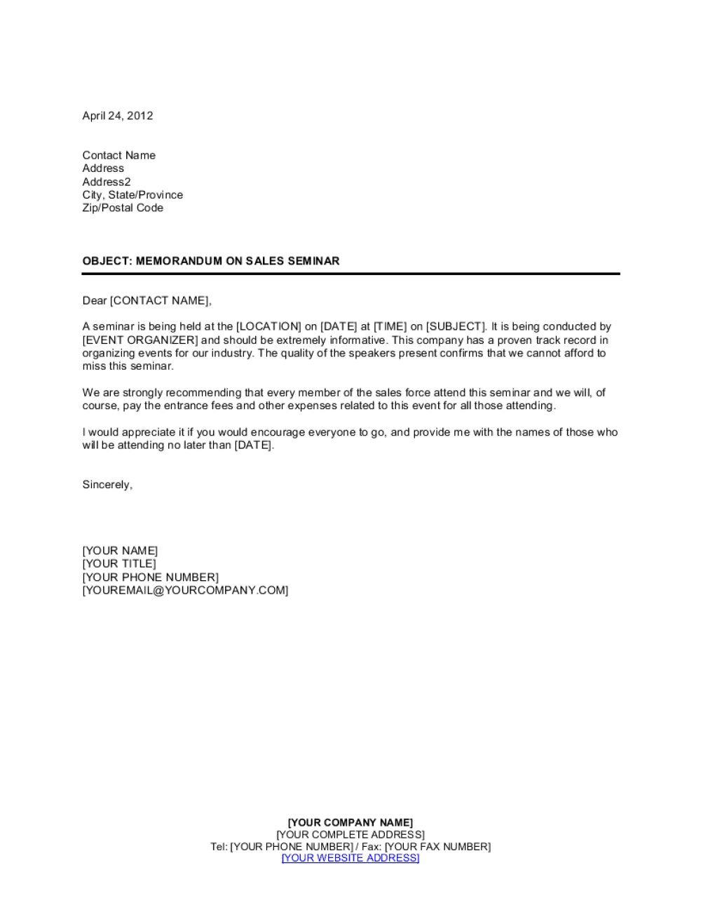 008 Outstanding Memorandum For Record Template Concept  Army Pdf Fillable Example WlcFull