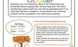 008 Outstanding Newsletter Template For Teacher To Parent Sample  Parents