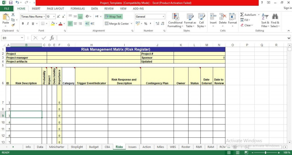 008 Outstanding Project Management Template Free Download Excel Design  Tracking DashboardLarge