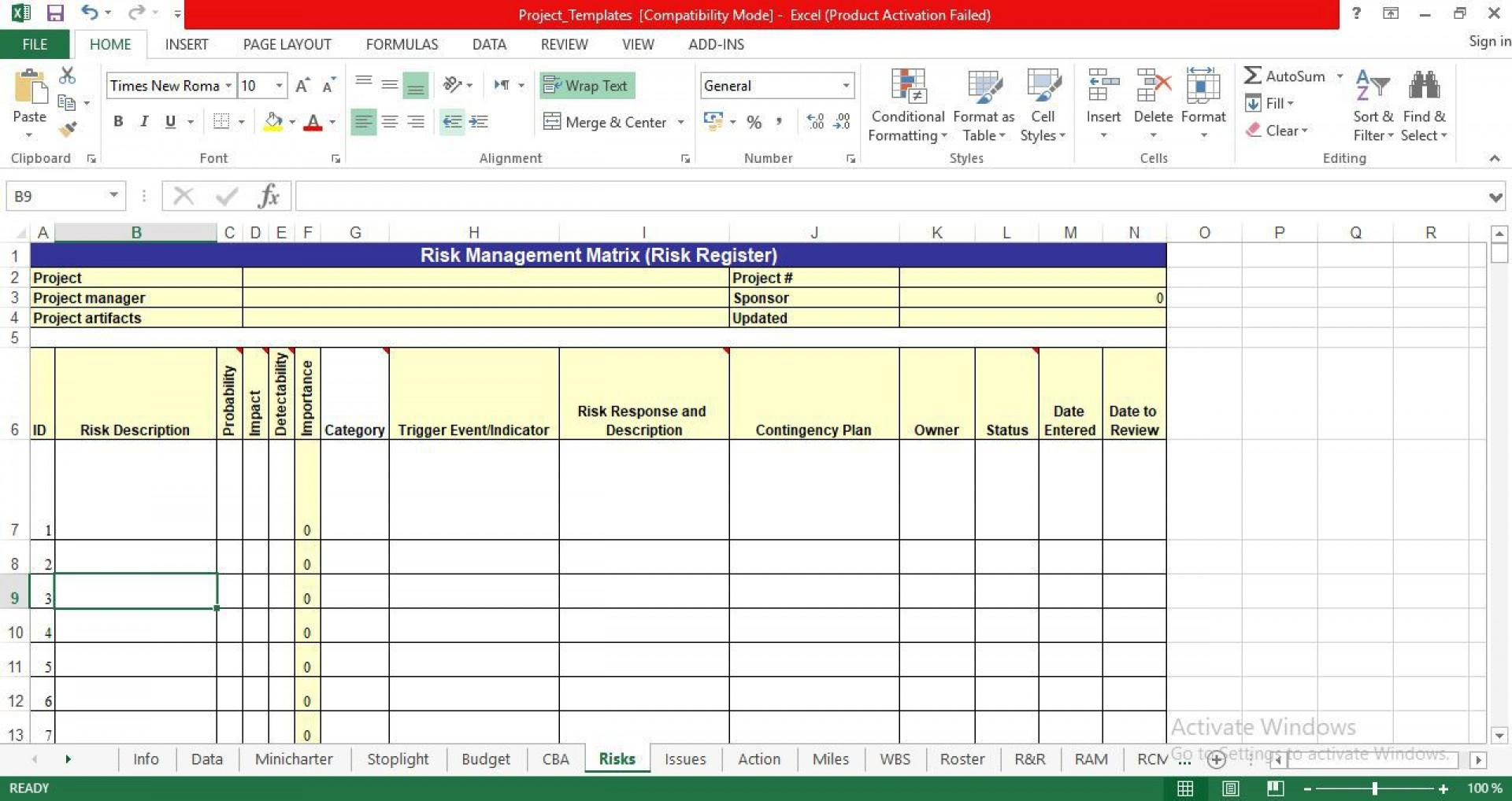 008 Outstanding Project Management Template Free Download Excel Design  Tracking Dashboard1920