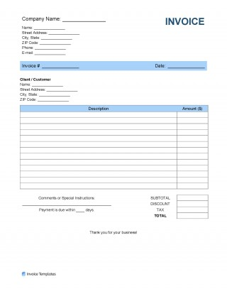 008 Outstanding Receipt Template Microsoft Word Idea  Invoice Free Money Blank320