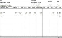 008 Outstanding Sample Tax Invoice Excel Download Highest Quality