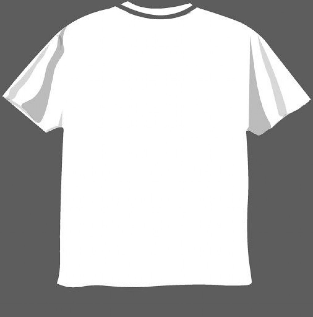 008 Outstanding T Shirt Design Template Psd High Def  Blank T-shirt V Neck Photoshop CollarLarge