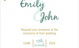 008 Phenomenal Blank Wedding Invitation Template Picture  Templates Free Download Printable Royal Blue