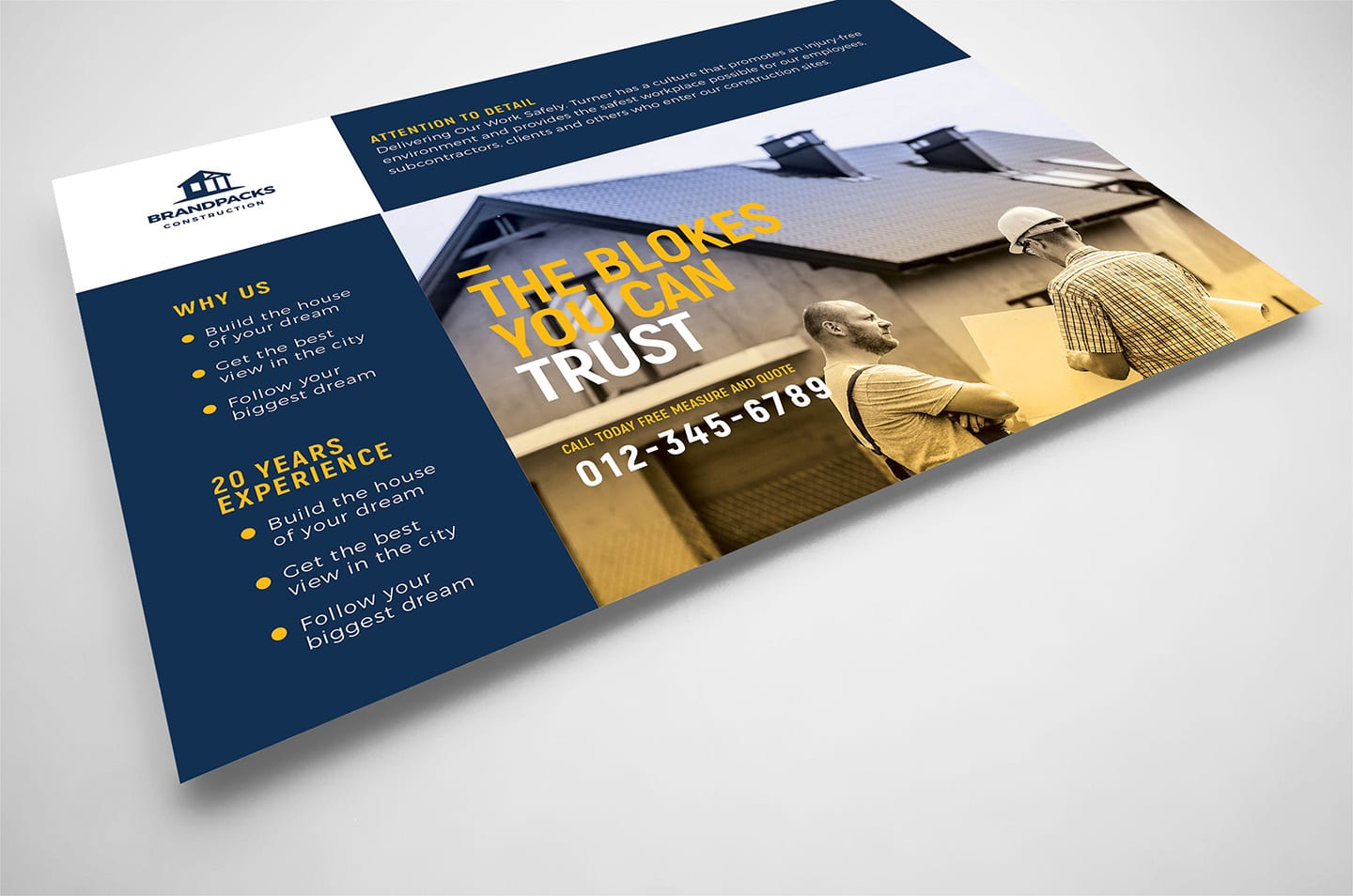 008 Phenomenal Construction Busines Card Template Highest Clarity  Templates Visiting Company Format Design PsdFull