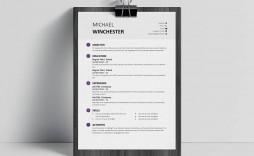 008 Phenomenal Download Free Resume Template Word 2018 Photo