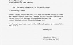 008 Phenomenal Employment Verification Form Template High Definition  Templates Previou Past Printable