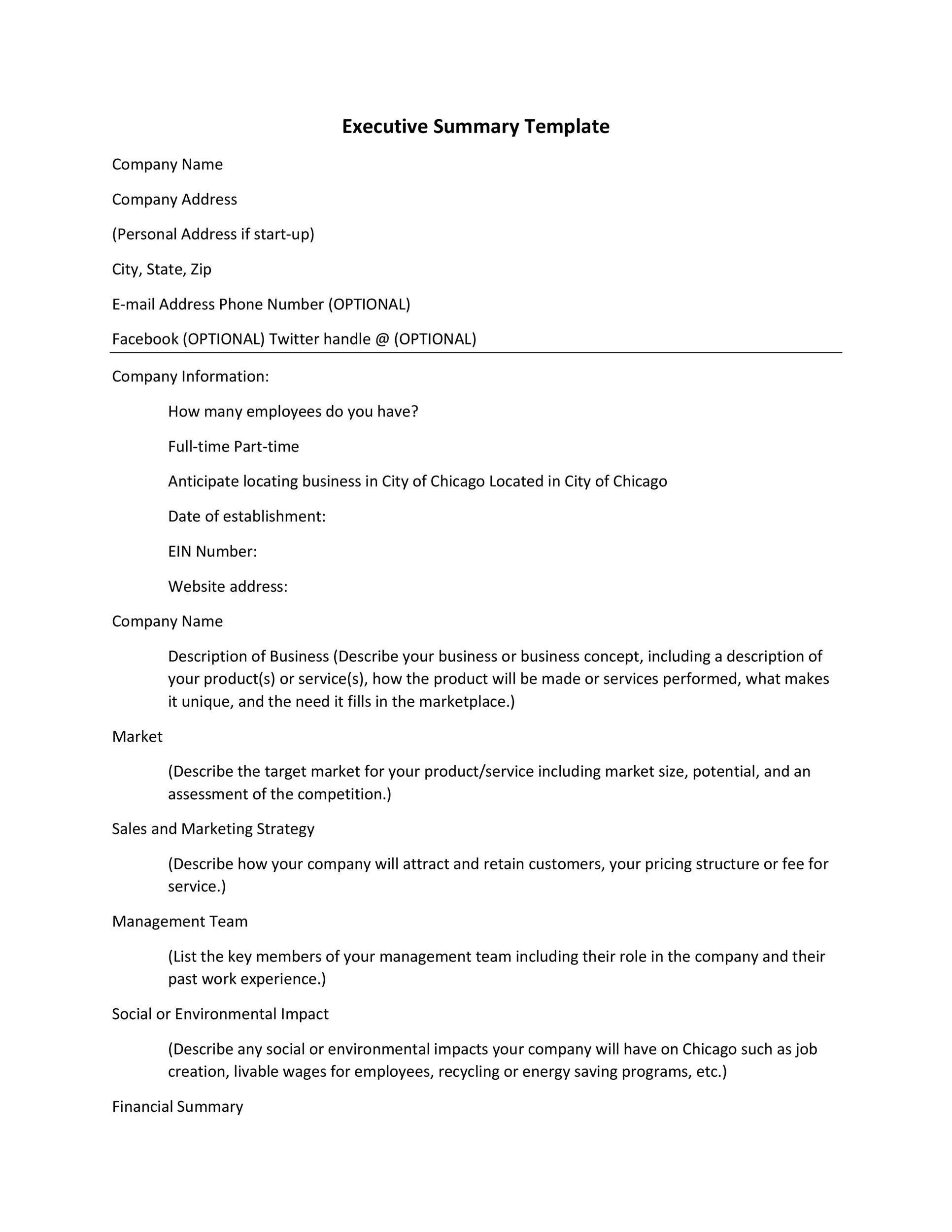 008 Phenomenal Executive Summary Template For Proposal. Photo  Sample Proposal Pdf ProjectFull