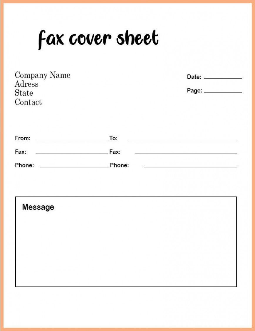 008 Phenomenal Fax Template Microsoft Word Picture  Download Cover Office Sheet
