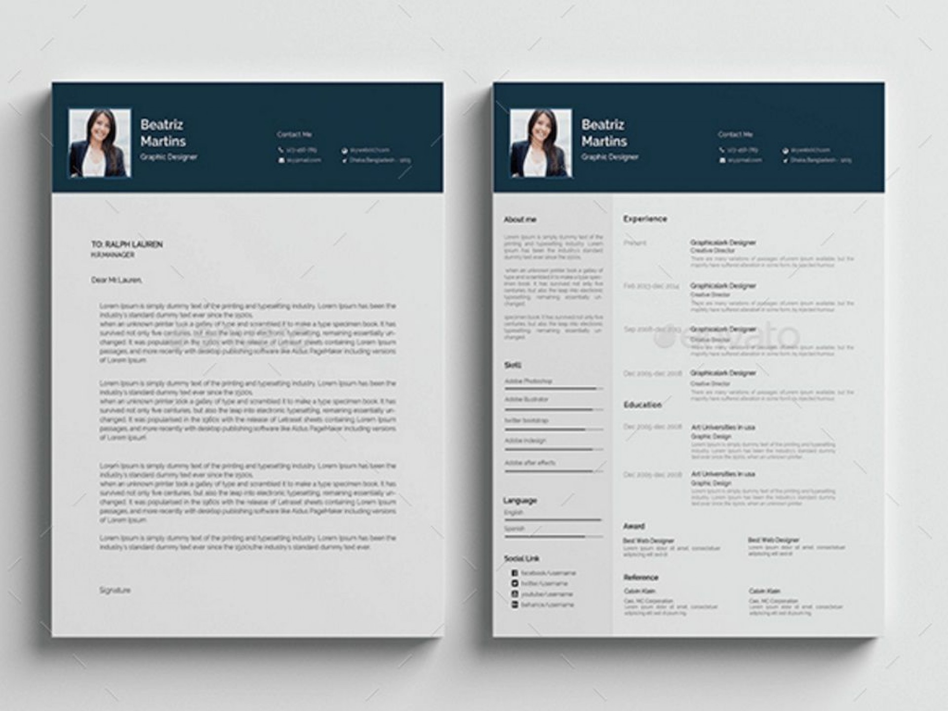 008 Phenomenal Free Psd Resume Template Sample  Templates Attractive Download Creative (psd Id) Curriculum Vitae1920