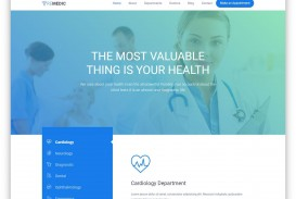 008 Phenomenal Free Website Template Download Html And Cs Jquery For Hospital High Def