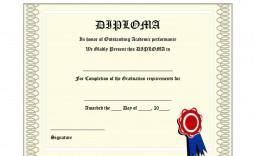 008 Phenomenal High School Diploma Template Def  With Seal Homeschool Free Printable Blank