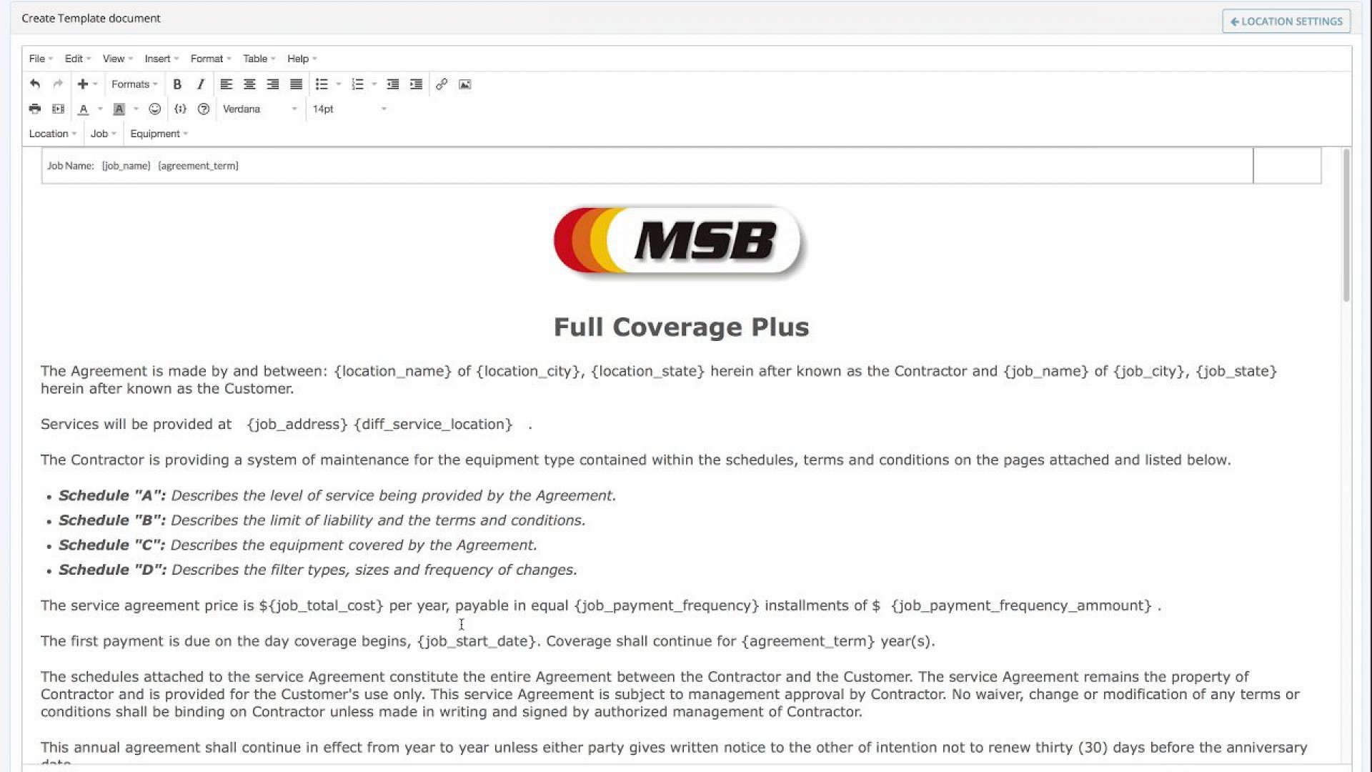 008 Phenomenal Hvac Service Agreement Template Highest Quality  Contract Form Maintenance Pdf1920