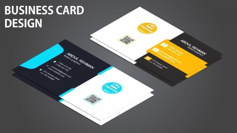008 Phenomenal Powerpoint Busines Card Template Image  Ppt Create480