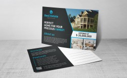 008 Phenomenal Real Estate Postcard Template Concept  Templates Design For Photoshop Commercial