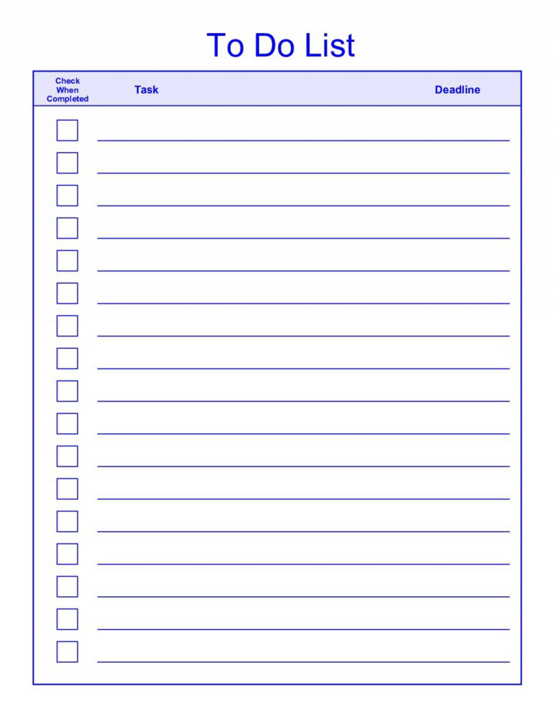 008 Phenomenal To Do List Template Pdf High Resolution 1920