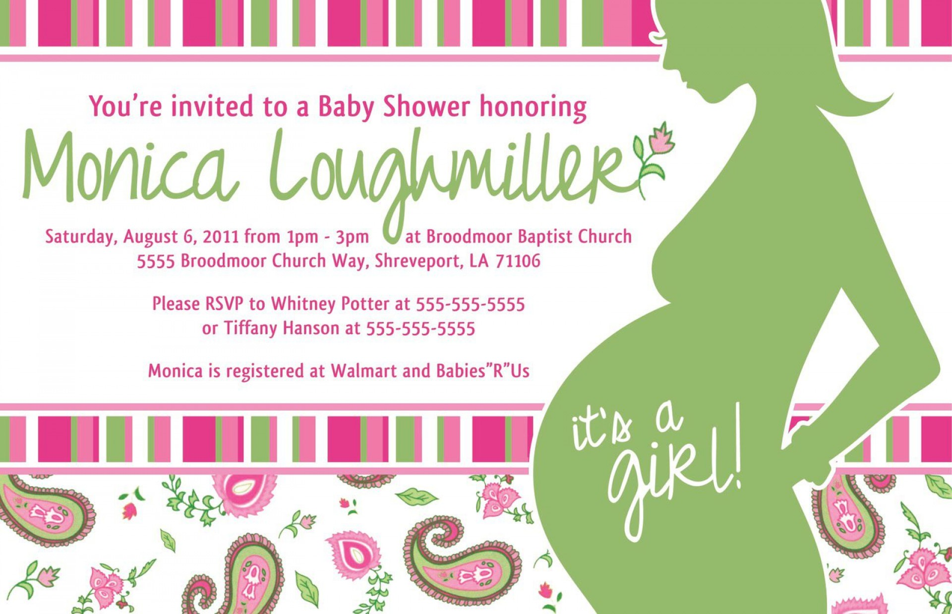 008 Rare Baby Shower Invitation Template Word Photo  Office Wording Sample Work Download1920