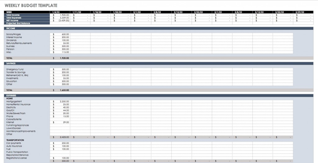 008 Rare Budget Template In Excel Example  Layout 2013Large