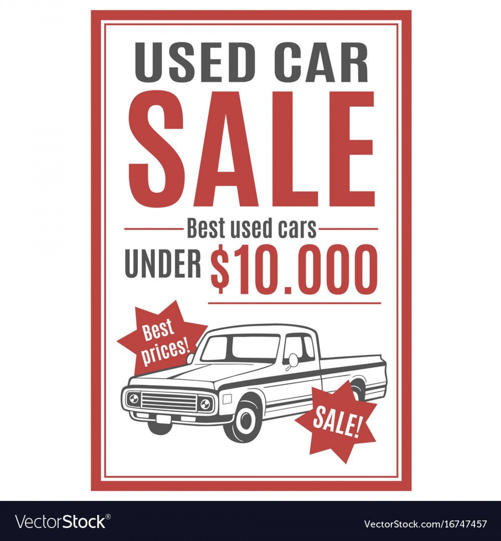 008 Rare Car For Sale Template Photo  Sign Word Bill Of Uk1920