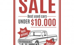 008 Rare Car For Sale Template Photo  Sign Word Bill Of Uk
