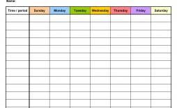 008 Rare Daily Calendar Template Excel Image