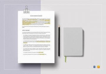 008 Rare Exclusive Distribution Agreement Template Word Photo  Format360