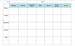 008 Rare Free Blank Lesson Plan Template Pdf Highest Quality  Weekly Editable